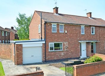 Thumbnail 3 bedroom semi-detached house for sale in Sandcroft Road, York