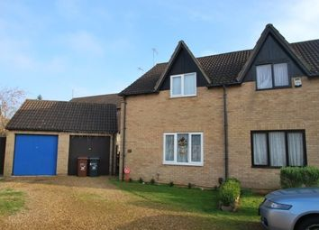 Thumbnail 2 bed semi-detached house to rent in Sentinel Road, West Hunsbury, Northampton