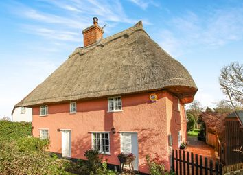 Thumbnail 4 bed cottage for sale in Mill Road, Buxhall, Stowmarket