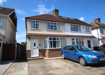 Thumbnail 3 bed detached house to rent in Tennyson Road, Addlestone