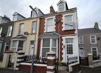 Thumbnail 3 bed end terrace house for sale in Greville Road, Milford Haven