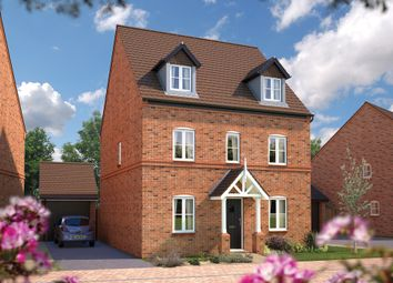 "Thumbnail 5 bedroom detached house for sale in ""The Chelford"" at Wall Hill, Congleton"