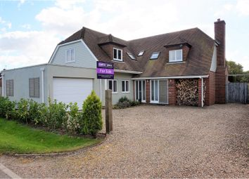 Thumbnail 4 bedroom detached house for sale in Curtis Lane, Stelling Minnis, Canterbury
