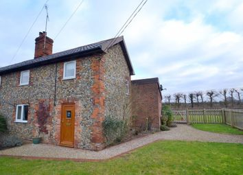 Thumbnail 2 bedroom semi-detached house for sale in The Street, Bradfield Combust, Bury St. Edmunds