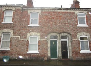 Thumbnail 2 bed terraced house to rent in Frances Street, York