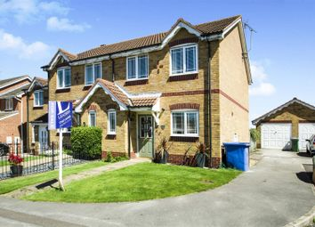 Thumbnail 3 bed town house for sale in Nelson Close, Mansfield