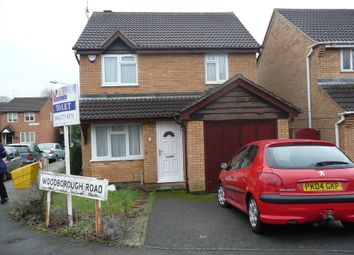 Thumbnail 3 bed terraced house to rent in Woodborough Road, Rowlatts Hill, Leicester