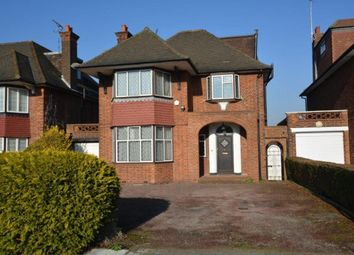 Thumbnail 4 bed detached house to rent in Manor Hall Avenue, London