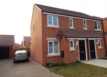 Thumbnail 2 bed semi-detached house for sale in Narborough, King's Lynn