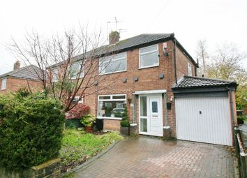 Thumbnail 3 bed semi-detached house for sale in Lyndene Avenue, Worsley, Manchester