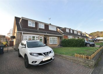 Thumbnail 4 bed detached house for sale in Badger Drive, Lightwater, Surrey