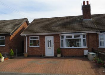 Thumbnail 2 bed semi-detached bungalow for sale in Brooksby Close, Oadby, Leicester