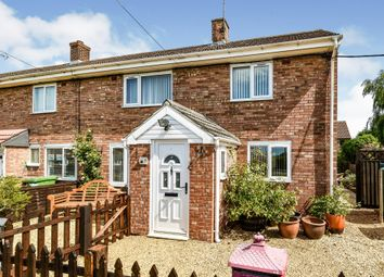 Thumbnail 3 bed end terrace house for sale in Queens Close, Wereham, King's Lynn