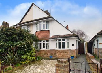 Thumbnail 3 bed semi-detached house for sale in Churchdale Road, Eastbourne