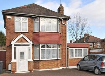 Thumbnail 4 bedroom detached house to rent in Normandy Avenue, Barnet