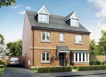 "Thumbnail 5 bed detached house for sale in ""The Fletcher"" at Court Road, Brockworth, Gloucester"