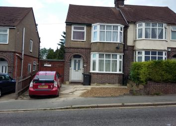 Thumbnail 1 bed terraced house to rent in Beechwood Road, Luton
