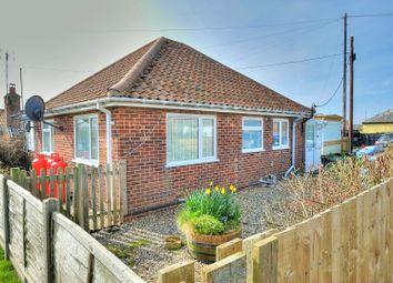 Thumbnail 2 bedroom detached bungalow for sale in Bush Drive, Eccles On Sea, Norwich