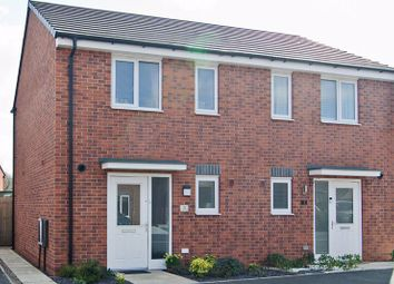 Thumbnail 2 bed semi-detached house for sale in Murcott End, Burntwood