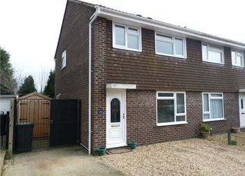 Thumbnail 3 bed semi-detached house for sale in Huntingdon Gardens, Christchurch, Dorset
