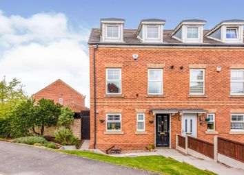 Thumbnail 3 bed town house for sale in Chestnut Crescent, Kendray, Barnsley