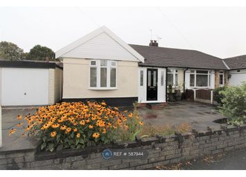 Thumbnail 3 bed bungalow to rent in Kingston Drive, Urmston, Manchester
