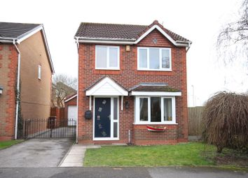 Thumbnail 3 bed detached house for sale in Mulberry Way, Hilton, Derby
