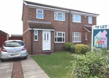 Thumbnail 3 bed semi-detached house to rent in Ash Close, North Duffield, Selby