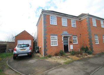 Thumbnail 2 bed semi-detached house for sale in Lark Vale, Watermead, Aylesbury