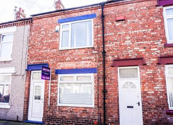 Thumbnail 2 bed terraced house for sale in Falmer Road, Darlington