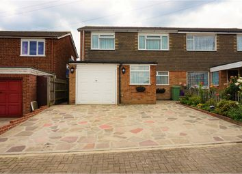 Thumbnail 3 bedroom semi-detached house for sale in Nicolson Road, Orpington