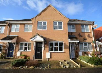 Thumbnail 2 bedroom terraced house to rent in South Leet Close, Oulton Broad, Suffolk
