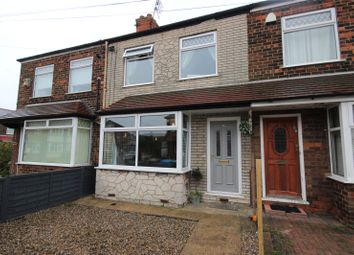 Thumbnail 2 bed terraced house for sale in Cambridge Road, Hessle