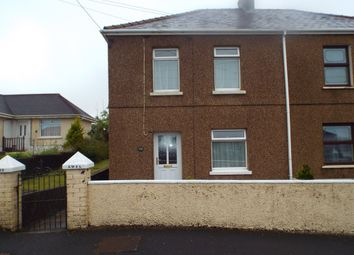 Thumbnail 3 bed semi-detached house for sale in Church Road, Gorslas, Llanelli