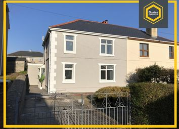 Thumbnail 3 bed semi-detached house for sale in Waun Road, Llanelli