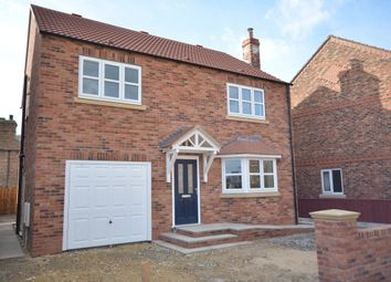 Thumbnail 4 bed detached house to rent in North Street, Barmby-On-The-Marsh, Goole