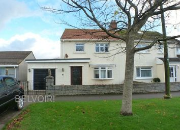 Thumbnail 3 bed semi-detached house for sale in Salisbury Close, Scurlage