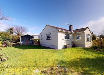 Thumbnail 4 bed detached bungalow for sale in North Road, Goldsithney, Penzance, Cornwall.