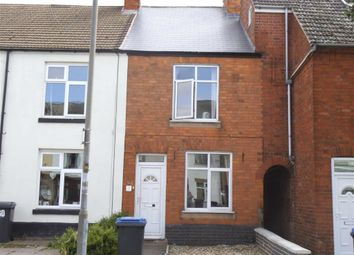 Thumbnail 2 bedroom terraced house to rent in Derby Road, Hinckley, Leicestershire