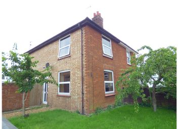 Thumbnail 2 bed semi-detached house for sale in Woolpack Lane, Whittlesey, Peterborough