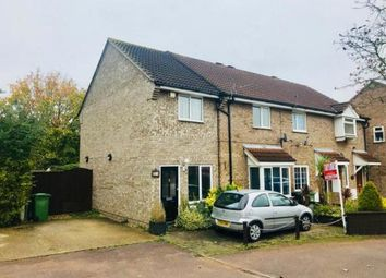 Thumbnail 3 bedroom end terrace house for sale in Alder Close, Eaton Ford, St. Neots, Cambridgeshire