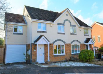 Thumbnail 4 bed semi-detached house for sale in Dowds Close, Hedge End