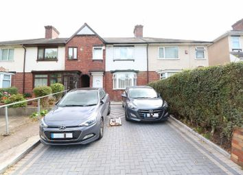 Thumbnail 3 bed terraced house for sale in Farcroft Road, Handsworth, West Midlands