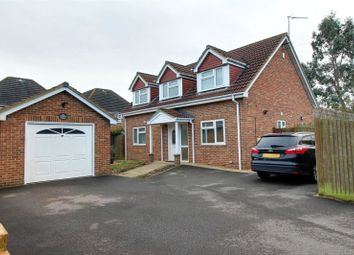 Thumbnail 4 bed detached house for sale in Shepherds Walk, Woodley, Reading, Berkshire