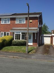 Thumbnail 2 bedroom semi-detached house to rent in Mere Oak Road, Perton, Wolverhampton