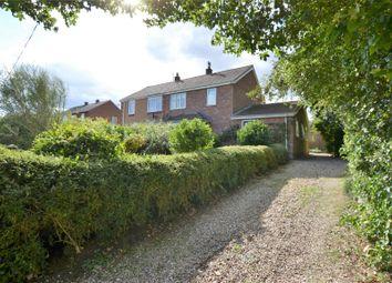 Thumbnail 4 bed semi-detached house for sale in Dunns Lane, North Creake, Fakenham