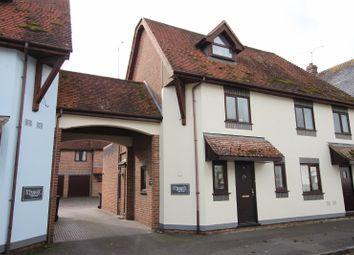 Thumbnail 2 bed maisonette for sale in High Street, Stockbridge, Hampshire
