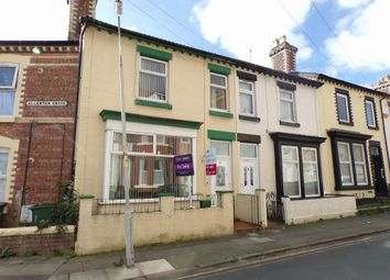 Thumbnail 3 bed end terrace house for sale in Allerton Road, Tranmere, Birkenhead