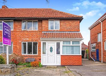 3 bed semi-detached house for sale in Caxton Avenue, York YO26
