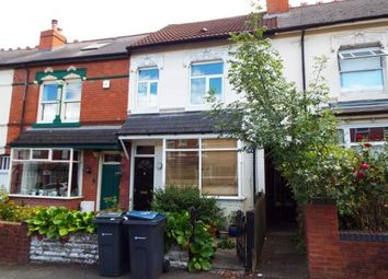 Thumbnail 3 bed terraced house for sale in Franklin Road, Bournville, Birmingham, West Midlands